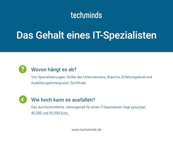 IT-Experte Gehalt