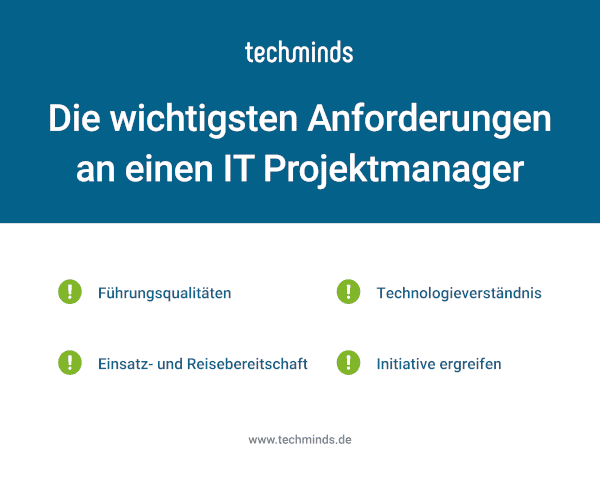 IT Projektmanagement Anforderungen