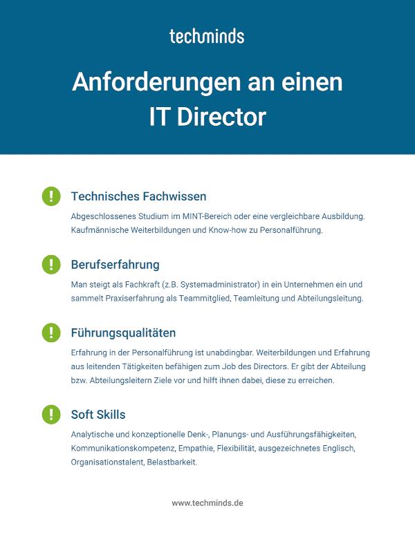 IT Director Anforderungen