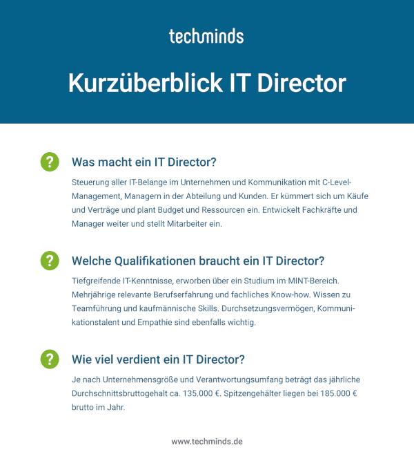 Kurzüberblick IT Director