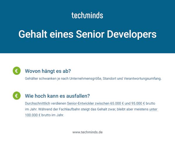 Senior Developer Gehalt