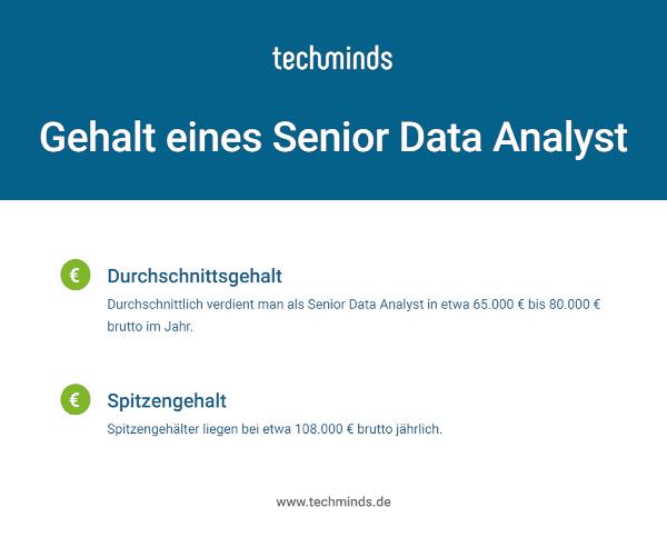 Senior Data Analyst Gehalt