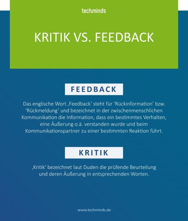 Kritik vs. Feedback   TechMinds